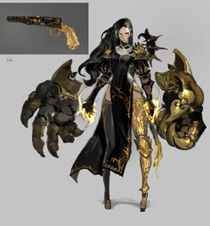 수줍 on in 2020 Female Character Design, Character Design References, Character Design Inspiration, Character Art, Fantasy Armor, Dark Fantasy Art, Fantasy Characters, Female Characters, Cartoon Characters