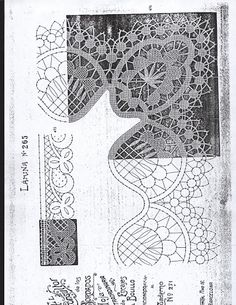 500 PLANTILLAS DE BOLILLOS - Patri Cru - Picasa Web Album Bobbin Lace Patterns, Embroidery Patterns, Bobbin Lacemaking, Point Lace, Needle Lace, Lace Making, Simple Art, String Art, Crochet Stitches