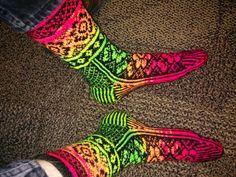 bright socks!