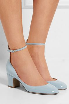 Valentino Tango soft blue wedding shoes