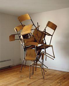 Entanglement of Chairs (Memorandoms Series), 2010 Lightjet Print 60 x 48 inches