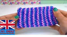Loom bands phone case easy - how to make a phone cover - Rainbow Loom Ce...
