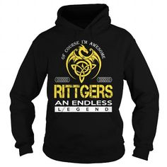 Awesome Tee RITTGERS An Endless Legend (Dragon) - Last Name, Surname T-Shirt T shirts