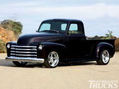 Camionete Chevy / Tipo de Carro 1950 - Revista Caminhões Clássicos -  /   1950 Chevy Pickup Truck - Custom Classic Trucks Magazine -