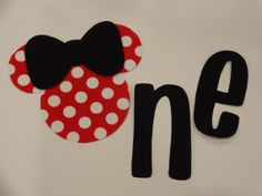 Minnie Mouse 1st/First Birthday iron on by TheCutiePieCompany, $5.95