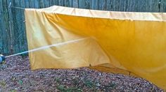 "Repurpose a King Sheet into an Oilskin Tarp DIY Project Homesteading  - The Homestead Survival .Com     ""Please Share This Pin"""