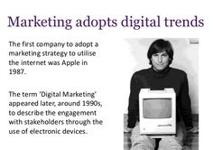 #Seo (Search Engine Optimization) Marketing strategy was used by #Apple Company in 1987.