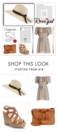 """""""Rosegal"""" by fashiontime-is-on-my-side ❤ liked on Polyvore featuring Inverni, Jennifer Lopez, Kate Spade and Nicki Minaj"""