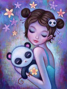 Jeremiah Ketner : XIONG MAO A group exhibition of panda inspired works @ Flower Pepper Gallery