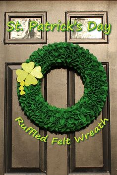 *The Handcrafted Life*: St. Patrick's Day Wreath