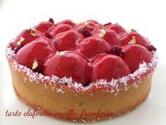 I Dolci di Pinella: Tarte Clafoutis Vanille-Framboise
