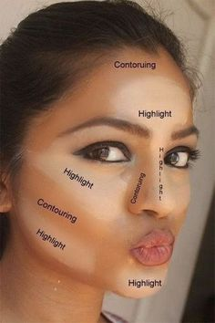 how-to-contour-and-highlight-face-with-makeup
