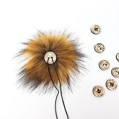 Chestnut Faux Fur Pom Poms – Warehouse 2020 Faux Fur Pom Pom, Medium Brown, Black Nylons, Pom Poms, Warehouse, Wood, How To Make, Woodwind Instrument, Timber Wood