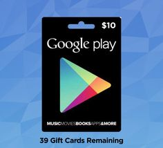 Google Play Gift Cards - Free Gift Cards 24