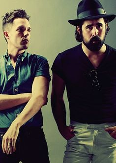 Brandon Flowers and Ronnie Vannucci
