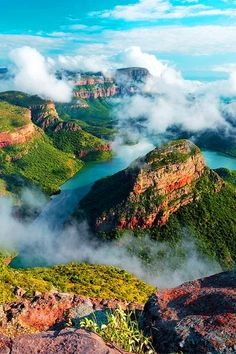 blyde river canyon in mpumalanga, south africa