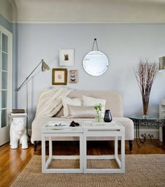 Some small space solutions you've probably heard before: make your furniture multitask
