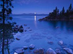 Image detail for -... Vol.02) :Secret Cove by Moonlight Lake Tahoe California Wallpaper