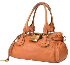 Chloé Satchel in Medium brown