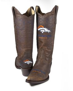 Women's Denver Broncos NFL Boot NEED THESE