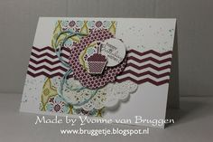 Yvonne's Stampin' & Scrap Blog: Stampin' Up! Card SAB 2013 Birthday