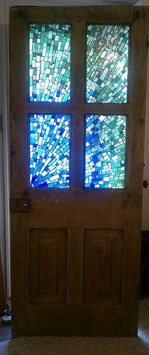 Mosaic door