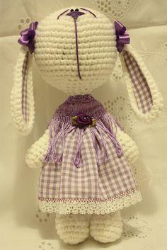 шерстяная улыбка :): сладкая зая - конфетка