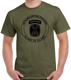 10th Mountain Division T-Shirt 0055 – ProArtShirts