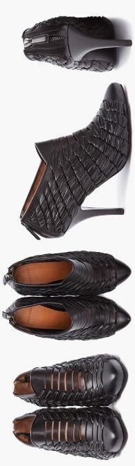 givenchy-woven-leather-heels ♥✤   KeepSmiling   BeStayBeautiful