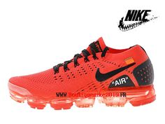 best sneakers f1731 fae81 Off-White X Nike Air Vapormax Flyknit 2.0 Chaussures Officiel 2018 Pas Cher  Pour Homme