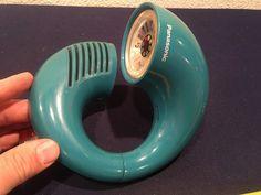 Vintage Panasonic TOOT A Loop Space Age Am Radio Transistor R 72 Azul Petróleo…