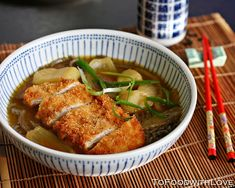 To Food with Love: Chicken Katsu Curry Soba