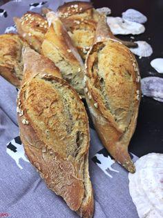 Baguettebrötchen Sauerteig (1)