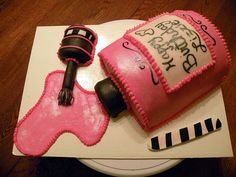 Nail polish cake. Its not a cupcake but it is steal pretty cool