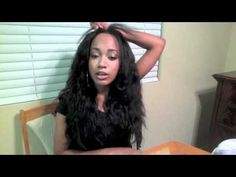 Show & Tell : Installing my U-part wig (Brazilian Virgin Wavy)