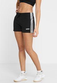 SHORT - Pantalón corto de deporte - black/white @ Zalando.es ...