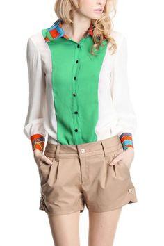 #green & #khaki #summer