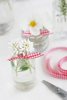 A Touch of Gingham - cute for little girl birthday party table