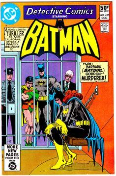 Detective Comics Batman #497, December 1980 ~ Cover Art by Jim Aparo
