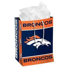 Denver Broncos Official NFL Medium Gift Bag