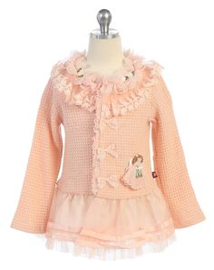 BALLERINA COAT Price: $39.99, Free Shipping Options: 2T, 4T, 6, 8, 10 click picture to purchase