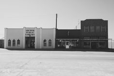 Archer City, Texas. Home to author Larry McMurtry.