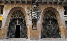 Художественная ковка в работах Антонио Гауди. Palau Güell, Barcelona #ковка #архитектура #forged_iron  #architecture