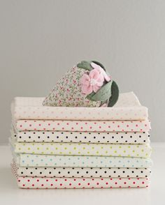 Swiss Dots from Sew Deerly Loved on Etsy - Pretty by Hand