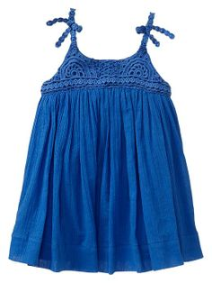 Crochet bow dress Product Image