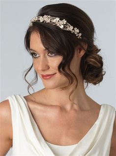 Discount wedding jewelry and headbands.