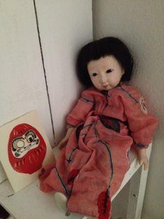 Daruma&hinamatsuri Elf On The Shelf, Japanese, Dolls, Holiday Decor, Home Decor, Baby Dolls, Decoration Home, Japanese Language, Room Decor