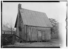 11.  Historic American Buildings Survey Alex Bush, Photographer, January 12, 1935 OLD SLAVE QUARTERS - Waldwic House & Outbuildings, State Route 69, Gallion, Hale County, AL