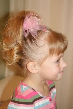 Lots of cute hairstyles for girls.