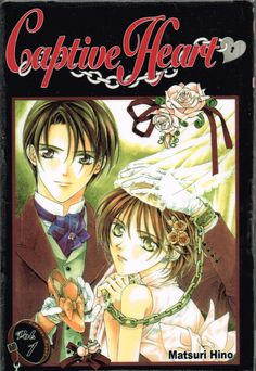 Captive Heart vol 1 (2009) by Mitsuri Hino. The first three chapters, fairly self contained and pretty amusing, plus two short stories. Finished 3rd Apr 2014, have read more than four times.